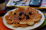 Blueberry Waffel