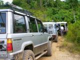 Off Road di Kayumas, Kalimantan Timur