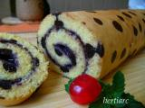 Blueberry Roll Tart