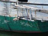 Kapal Kayu sandar di Lhok Tuan