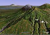 Merapi South ridge