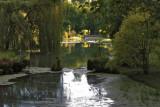 La Somme quelques kilomètres après sa source, dans un parc privé.