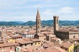 The town panorama seen from Palazzo Vecchio
