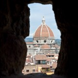 Florence Cathedral seen from Palazzo Vecchio