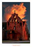 Texas Church Sunset