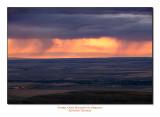 Storm Over Pendleton, Oregon