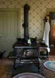Stove in the Mary Hafford House