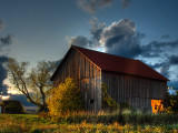 Barn in southern Milwaukee County
