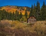 cabin on boreas pass