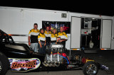 2009 - Outlaw Fuel Altered Association - Event #7 of 8 - Ben Bruce Raceway - Evadale, TX - Joe McHugh Photos