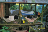 camp at the Cuidad Perdida