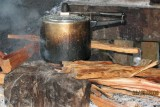 pressure cooking on a wood fire!