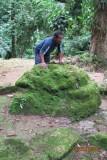 Omar and a sacrificial rock