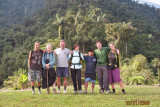 Roman (Switzerland), Margaret (USA), Steve (USA), Carolina (Italy), Omar (Colombia [our guide]), Brendan (Canada), Hila (Israel)