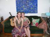 Systrarna Raphaëlle och Matilde