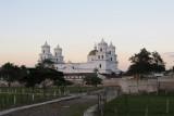Basilica At Sunset