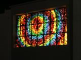 Stained glass at church in Wichita Falls