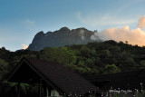 Kinabalu - View of Kinabalu from Liwaku Carpark