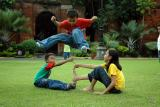 kids at Fort Santiago