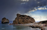 Storm over Aphrodites Rock