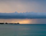 Rain over Delaporte Pt