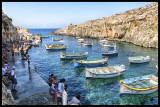 Fisherman port near Blue Grotto