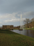 Chatsworth and fountain wide