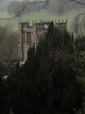 Chatsworth in the trees