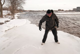 On thin ice...