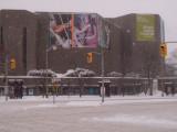 Jour de tempête à Ottawa (le CNA) / Stormy Day in Ottawa (the NAC)