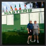 Jay and Fred and Masters Scoreboard