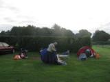 Altijd weer leuk om te zien hoe de Quechua tent wordt ingepakt
