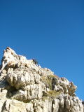 Afdaling vanaf Nuvolau hut naar Passo Giau