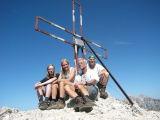 Op de Monte Coldai(2396 meter)