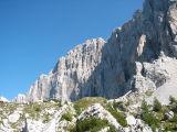 Noordwestwand van de Civetta