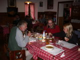 Diner in  Rifugio Mario  Vazzoler
