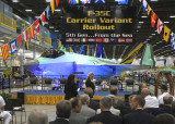 F-35C Rollout Ceremony (Lockheed-Martin 7-28-2009)