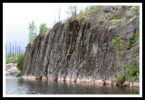 Granite Cliffs of Morris Lake