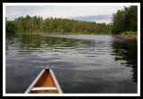 Canoeing into Portage