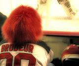Red Haired Fan