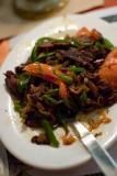 My dinner, Shaptrak!  Some excellent Tibetan dish.