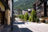 Street in Chamonix
