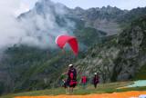Paragliding at Plan Praz