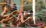 Bagan Water Festival Ladies