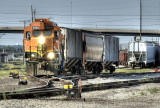 BNSF Switching in Topeka KS