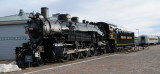 Old Steam Engine for the Grand Canyon RR