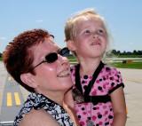 Airshow - Grammaw and Little Dunkin