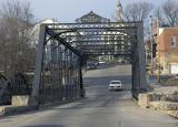 Paoli One Lane Iron Bridge