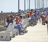 Sitting on the Boardwalk