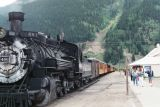Durango Train at Silverton